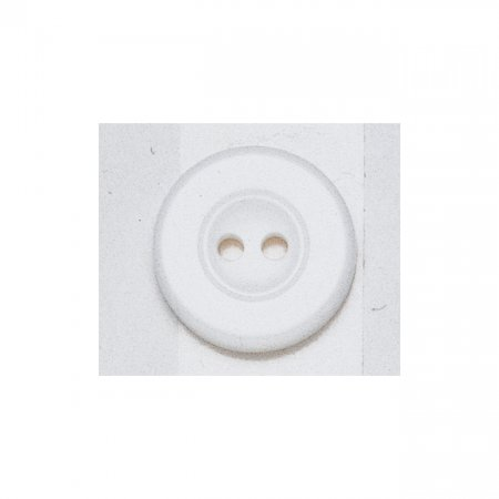 Laundry Buttons, 17mm, White, Pack of 16 (311136)