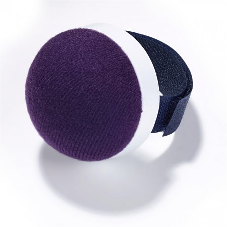 Wrist Pincushion with Hook and Loop Ribbon, Blue (611340)