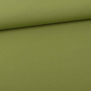 Cotton Jersey Uni Apple Green