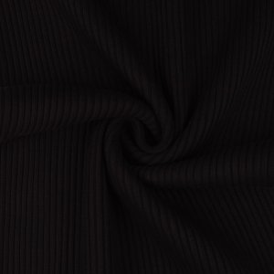 Cuffs Ribbed Uni Black