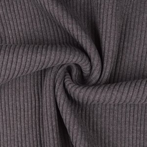 Cuffs Ribbed Grey Melange
