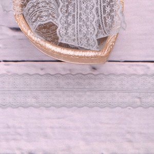 Fine Lace Floret Grey 43mm