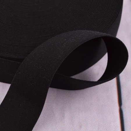 XL Elastic Tape Black 4 cm