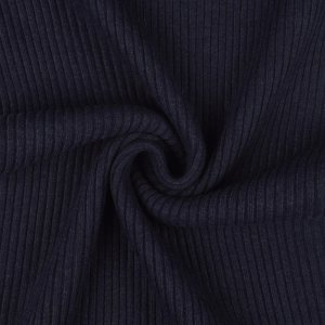 Cuffs Ribbed Uni Navy Melange