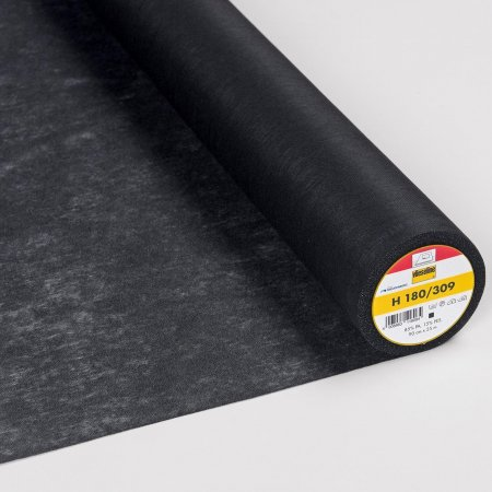 Vlieseline Fusible Interlining H180 Black