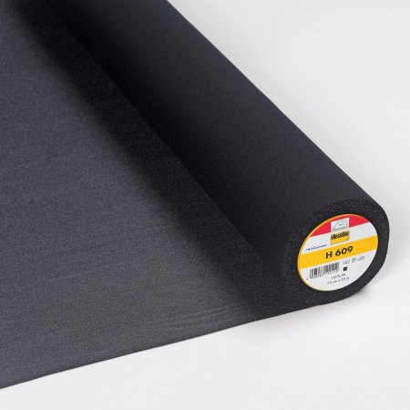Vlieseline Fusible Interlining H609 Black