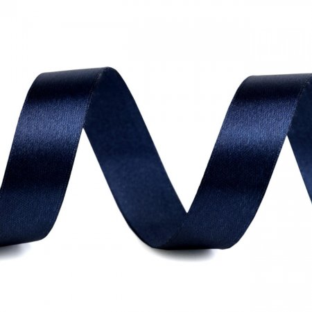 Satin Ribbon 20mm Dark Blue