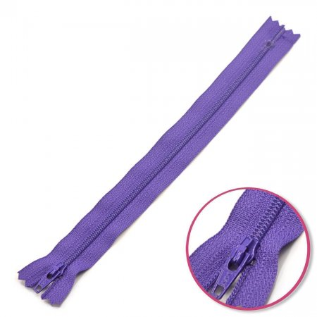 Zipper Dark Purple Non Seperable YKK (0561179-559)