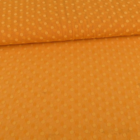 Tulle Fabric Dots Yellow