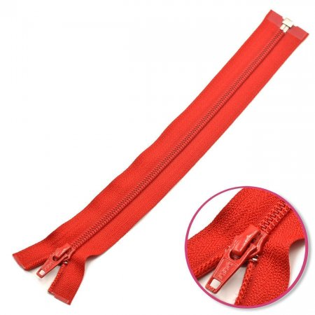 Zipper Red Seperable YKK (0004706-519)