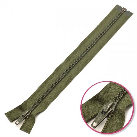 Zipper Olive Green 50cm Seperable YKK (0004706-567)