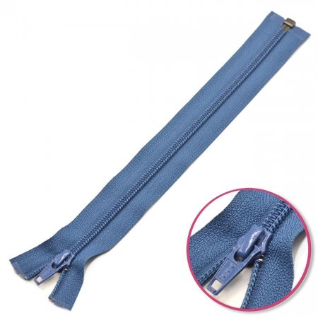 Zipper Denim-Blue 25cm Seperable YKK (0004706-839)