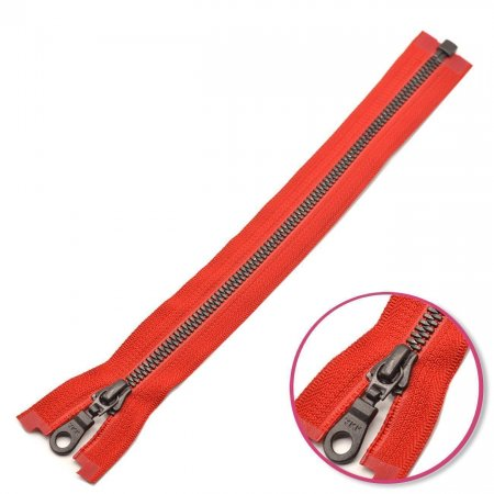 Zipper Red Seperable with Teeth Plastic YKK (4296577-519)