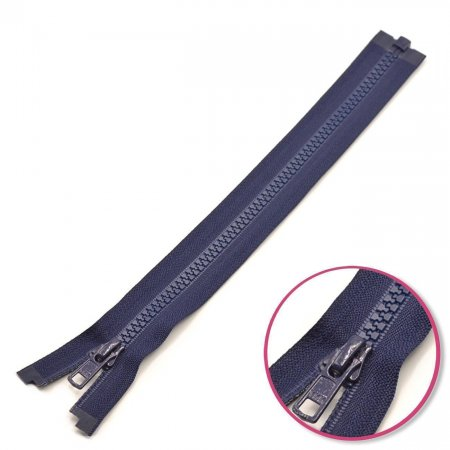 Zipper Navy 75cm Seperable with Teeth Plastic YKK (4335956-058)