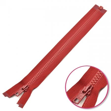 Zipper Dark Red 25cm Seperable with Teeth Plastic YKK (4335956-520)