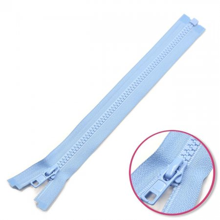 Zipper Pastel-Blue 35cm Seperable with Teeth Plastic YKK (4335956-546)