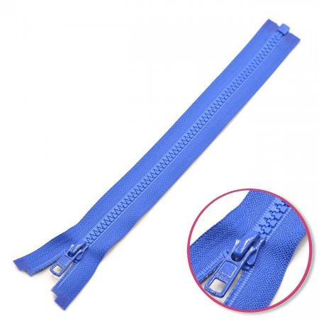 Zipper Royal-Blue 50cm Seperable with Teeth Plastic YKK (4335956-918)