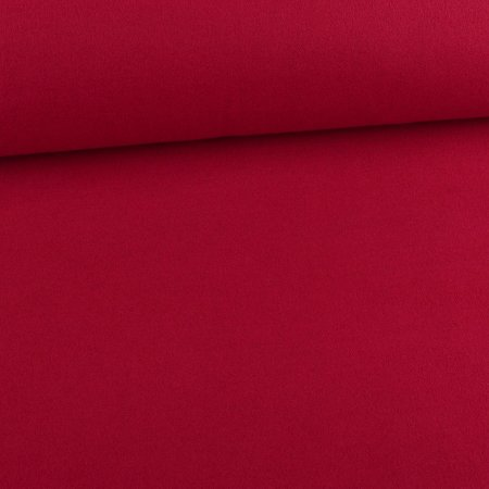 Soft Coat Fabric Uni Berry