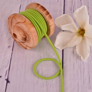 Cotton Cord Light Lime 5mm