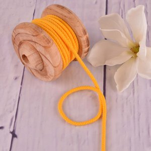 Cotton Cord Yellow 5mm