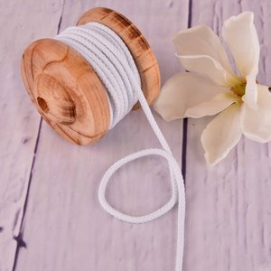 Cotton Cord White 5mm