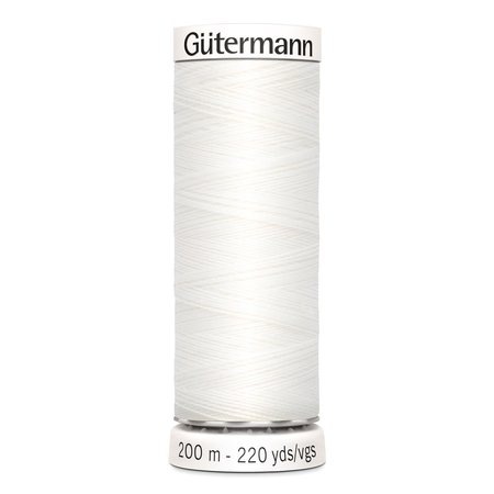 Gütermann Sew-all Thread Nr. 800 Sewing Thread - 200m, Polyester