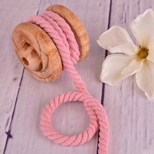 Twisted Cotton Cord XXL Cotton Cord Uni Pink 12 mm