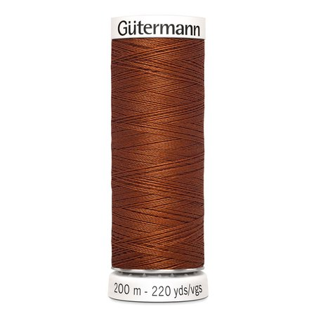 Gütermann Sew-all Thread Nr. 934 Sewing Thread - 200m, Polyester