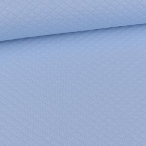 Quilted Diamond Pattern Light Blue