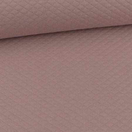 Quilted Diamond Pattern Taupe