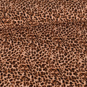 Chiffon Leoprint Brown Beige