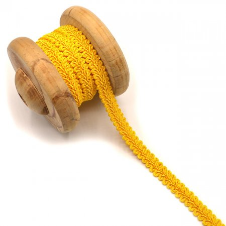 Braid Trim Lara Yellow 15mm