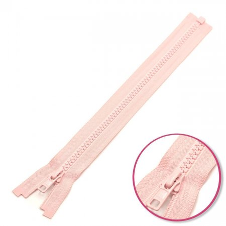 Zipper Pearl Pink Pink Seperable with Teeth Plastic YKK (4335956-811)