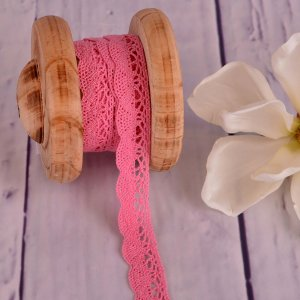 Knitted Trim Lace Trim Light Pink 20 mm