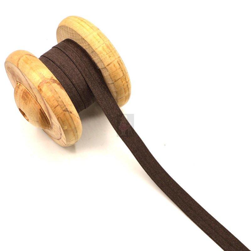 Bias Tape Elastic Tape Brown 1,5cm