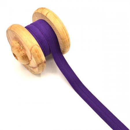 Binding Tape Elastic Rubber Band Purple 2cm