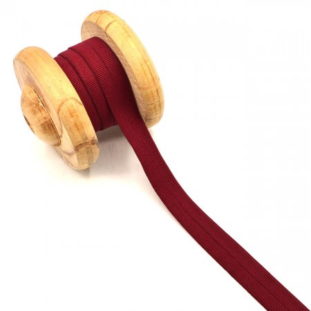 Binding Tape Elastic Rubber Band Bordeaux 2cm
