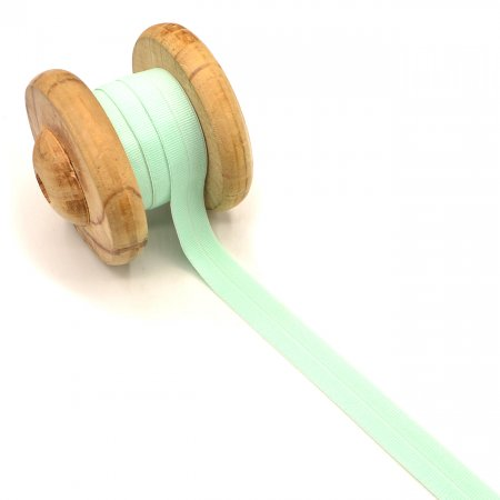 Binding Tape Elastic Rubber Band Light Mint 2cm