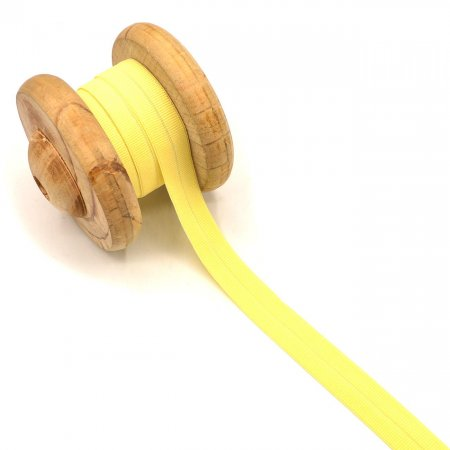 Binding Tape Elastic Rubber Band Yellow 2cm