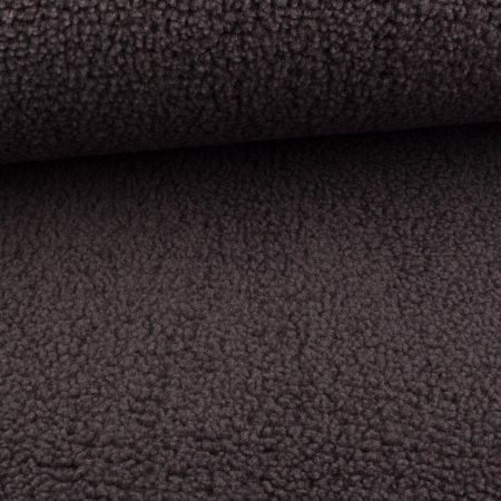 Jacket fabric imitation wool grey melange
