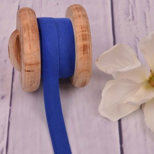 Cotton Jersey Bias Tape Binding Royal Blue