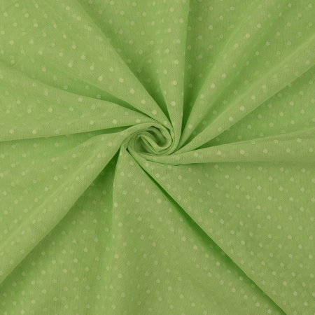 Soft Tulle Fabric Dots mint green