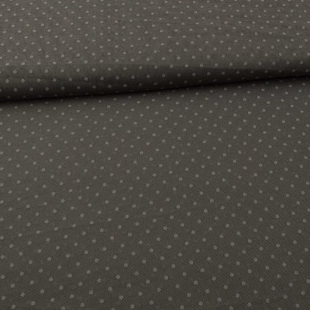 Soft Tulle Fabric Dots grey green