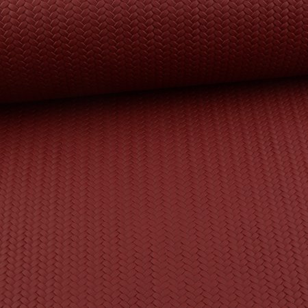 Leatherette Swafing Pinto - Braided Bordeaux