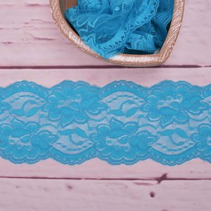 Elastic Lace Flower Dream Aqua 9,5cm