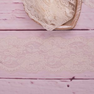 Elastic Lace Flower Dream Ecru 9,5cm