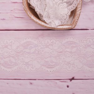 Elastic Lace Flower Dream Cream 9,5cm