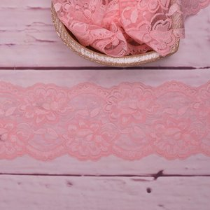 Elastic Lace Flower Dream Light Pink 9,5cm