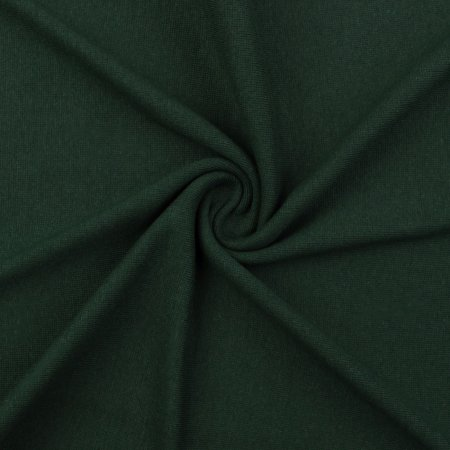 Organic uni Cuffs fine-ribbed dark green