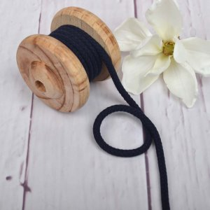 Cotton Cord Navy 8 mm